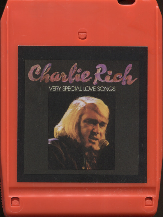 Charlie Rich: Very Special Love Songs - Vintage 8 Track Tape