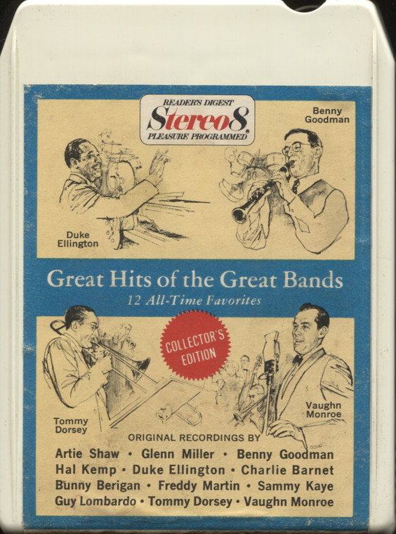 Various Artists: Reader's Digest Great Hits of the Great Bands - Vintage 8 Track Tape