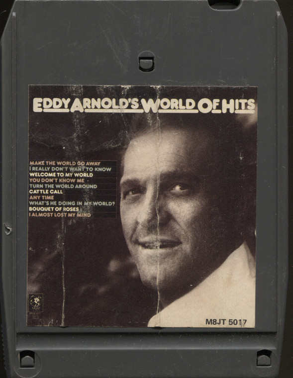 Eddy Arnold: Eddy Arnold's World of Hits - Vintage 8 Track Tape