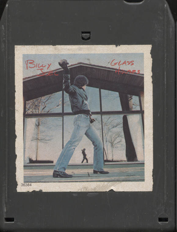 Billy Joel: Glass Houses - Vintage 8 Track Tape