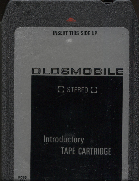 Various Artists: Oldsmobile Introductory Cartridge - PC8S594 Car Demo Vintage 8 Track Tape