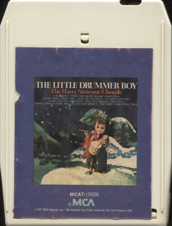 The Harry Simeone Chorale: The Little Drummer Boy - Vintage 8 Track Tape Cartridge
