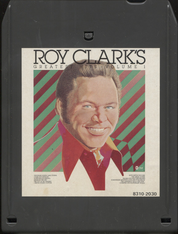 Roy Clark: Greatest Hits, Volume 1 - Vintage 8 Track Tape Cartridge