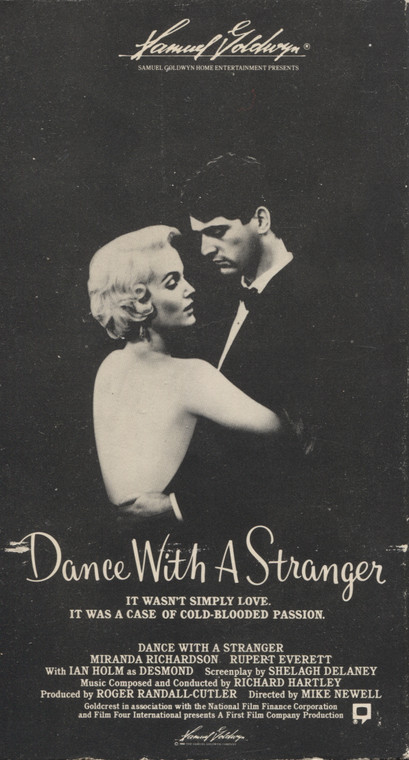 Dance with a Stranger - VHS Home Movie Video Tape