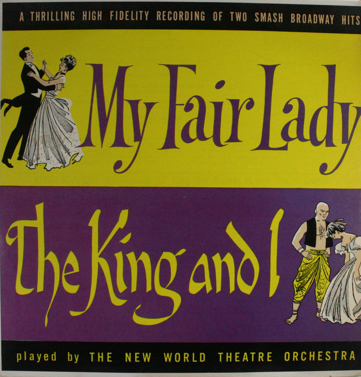 The New World Theatre Orchestra: My Fair Lady / The King and I - LP Vinyl Record Album