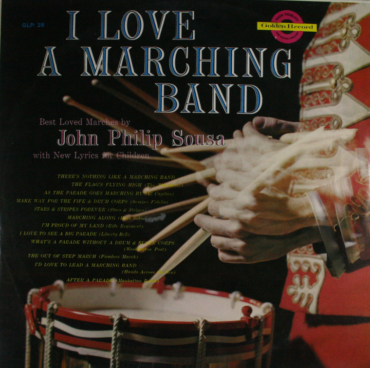 The Bell-Mall Marching Band: I Love a Marching Band -  LP Vinyl Record Album
