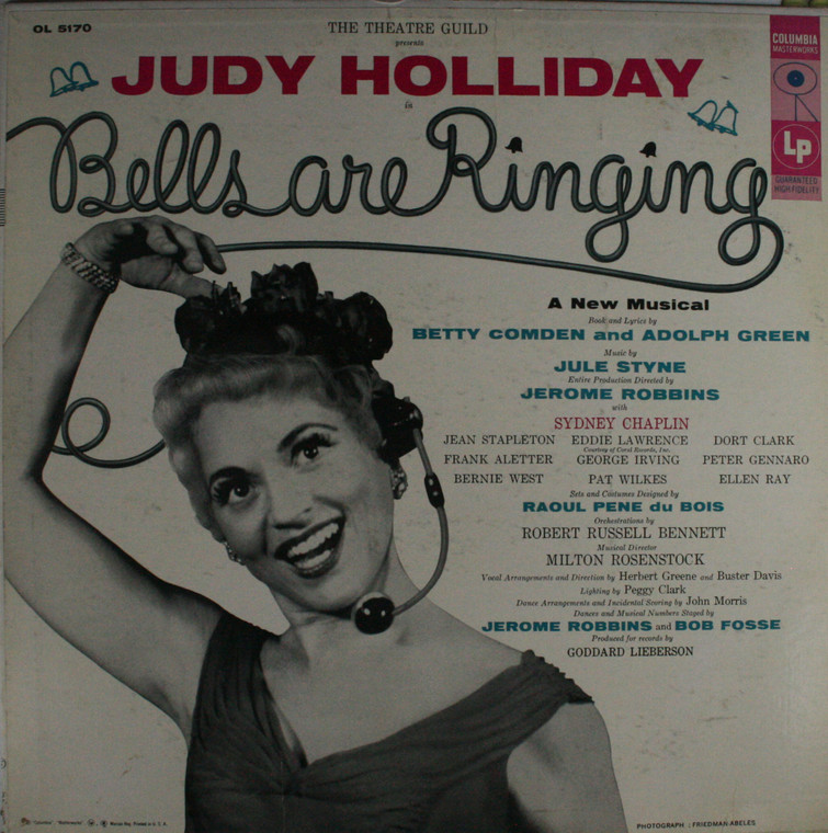 Various Artists: Bells are Ringing, A New Musical -  LP Vinyl Record Album