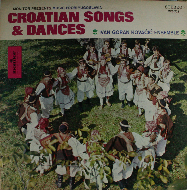 Ivan Goran Kovacic Ensemble: Croatian Songs & Dances - LP Vinyl Record Album