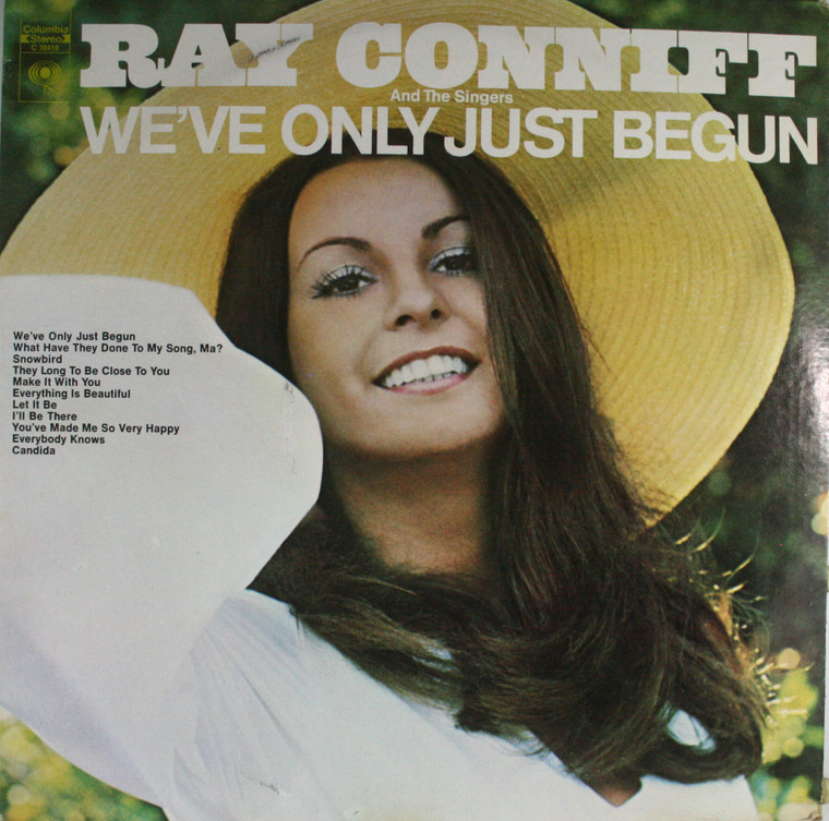 Ray Conniff and the Singers: We've Only Just Begun - LP Vinyl Record Album