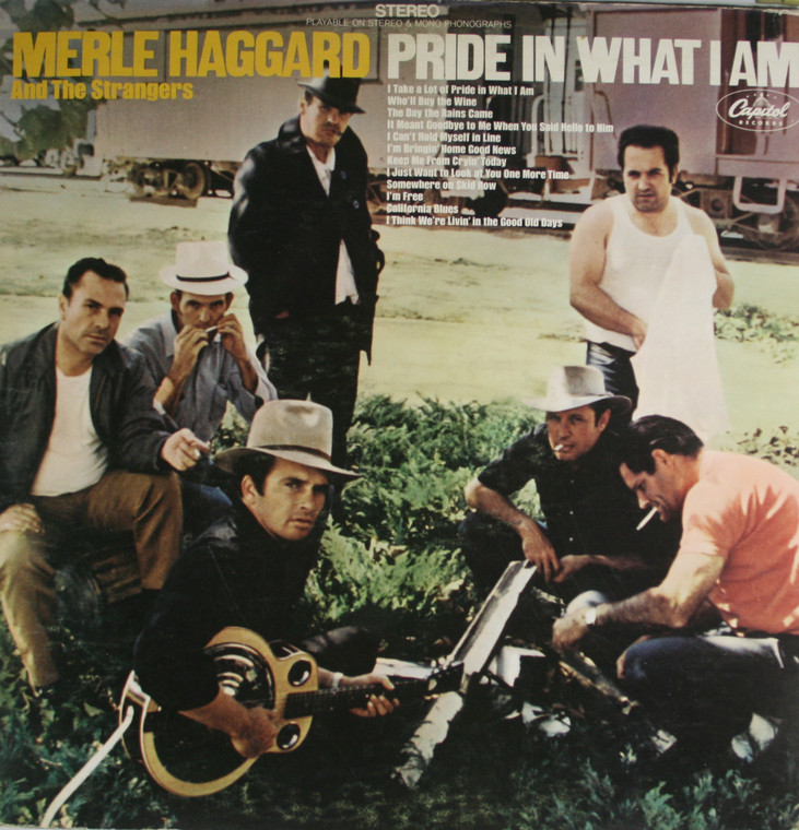 Merle Haggard and the Strangers: Pride in What I Am - LP Vinyl Record Album