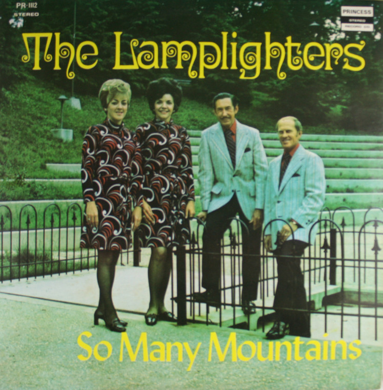 The Lamplighters: So Many Mountains - LP Vinyl Record Album
