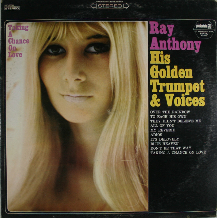 Ray Anthony: Taking a Chance on Love - LP Vinyl Record Album