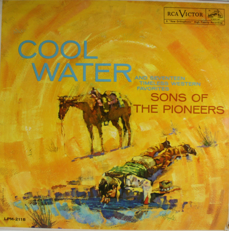 Sons of the Pioneers: Cool Water - LP Vinyl Record Album