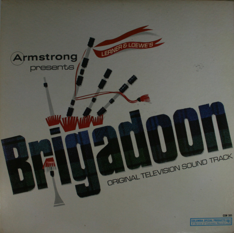 Various Artists: Brigadoon, Original Television Soundtrack - LP Vinyl Record Album