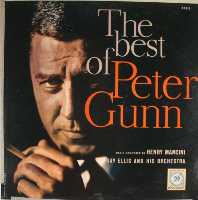 Ray Ellis and His Orchestra: The Best of Peter Gunn - LP Vinyl Record Album