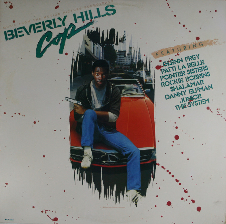Various Artists: Beverly Hills Cop, Motion Picture Soundtrack - LP Vinyl Record Album
