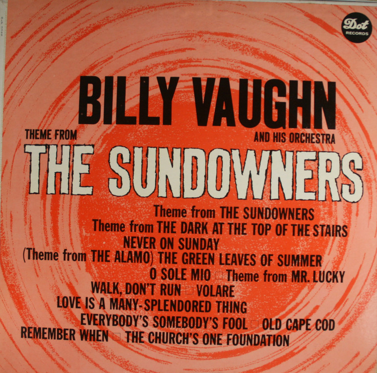 Billy Vaughn & Orchestra: Theme from The Sundowners - Vintage LP Vinyl Record Album