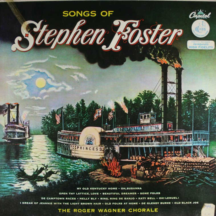 The Roger Wagner Chorale: Songs of Stephen Foster - LP Vinyl Record Album
