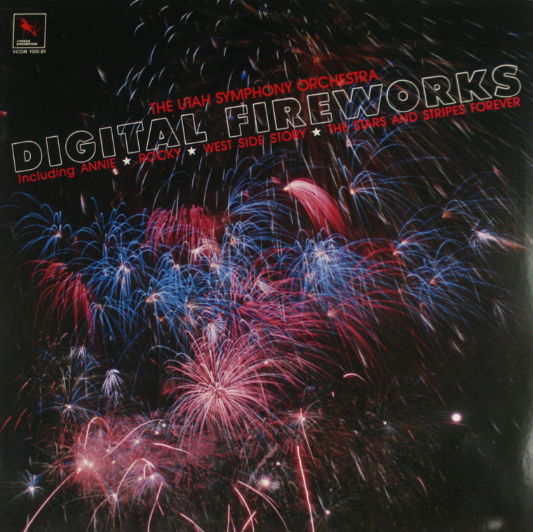 The Utah Symphony Orchestra: Digital Fireworks - LP Vinyl Record Album