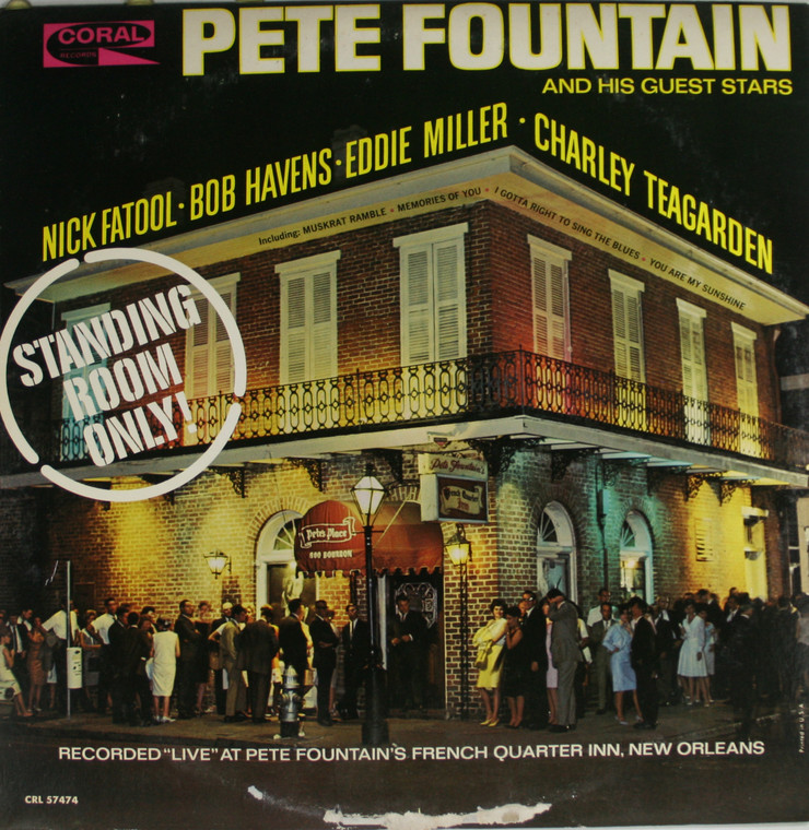 Pete Fountain & Guest Stars: Standing Room Only - LP Vinyl Record Album