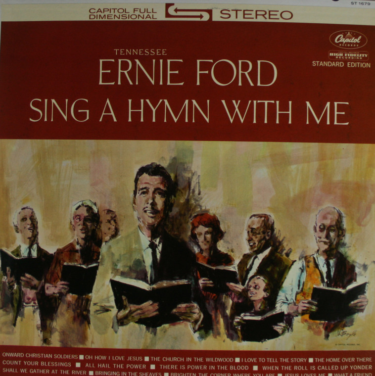 Tennessee Ernie Ford: Sing a Hymn with Me - LP Vinyl Record Album