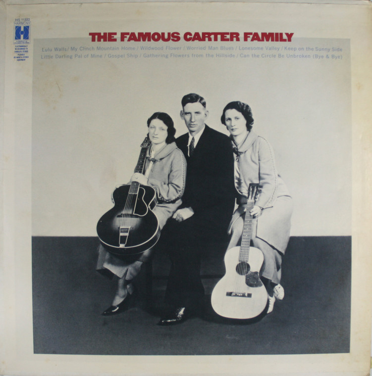 The Carter Family: The Famous Carter Family - LP Vinyl Record Album