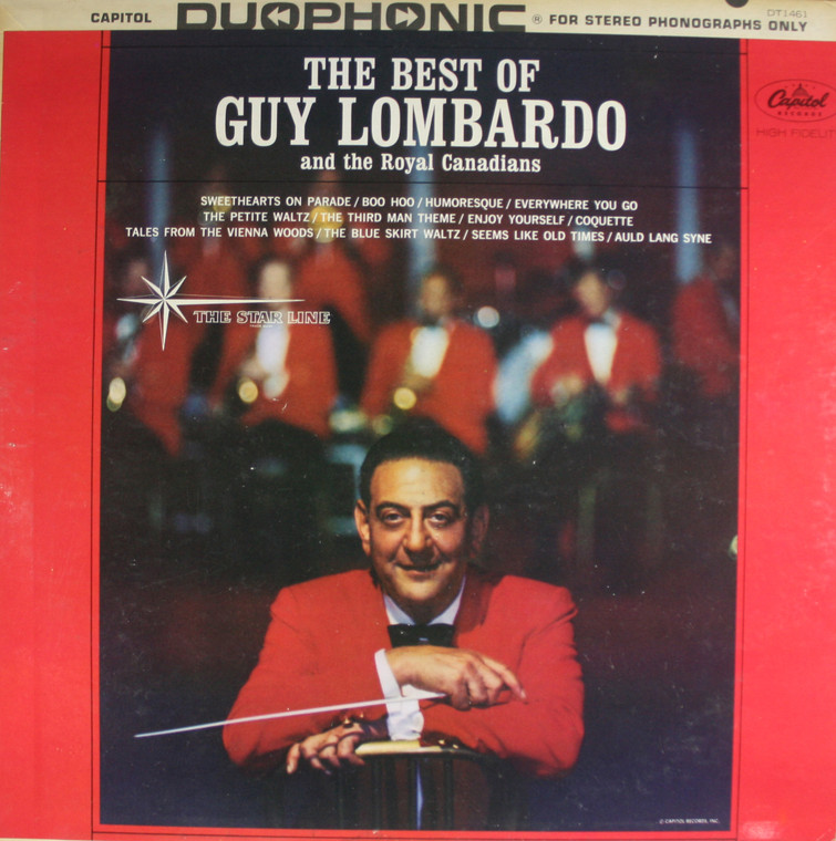 Guy Lombardo: The Best of Guy Lombardo and the Royal Canadians - Vintage LP Vinyl Record Album