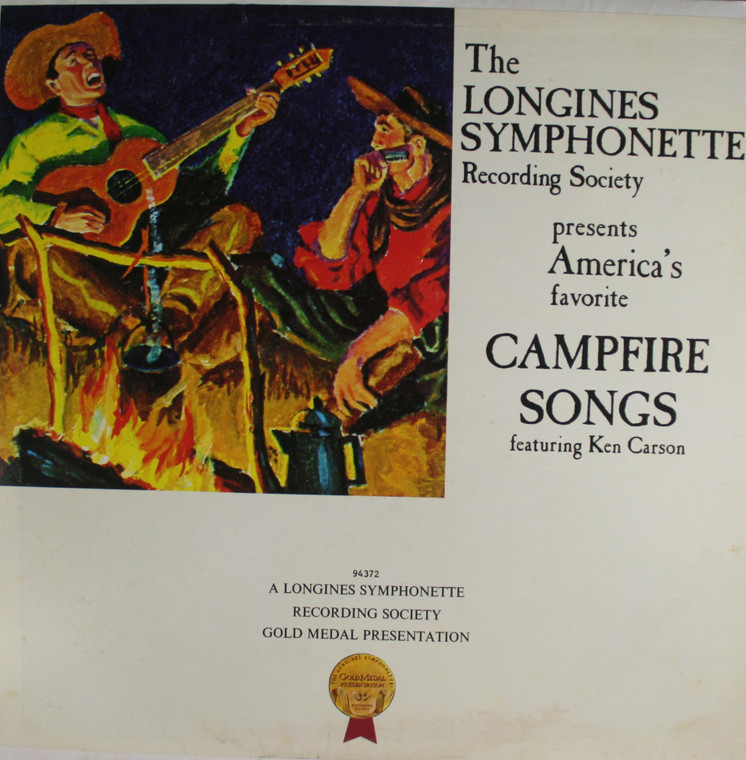Ken Carson and the Singing Choraliers: America's Favorite Campfire Songs - LP Vinyl Record Album