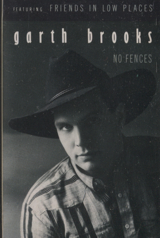 Garth Brooks: No Fences  - Vintage Audio Cassette Tape
