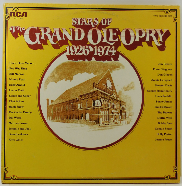 Various Artists: Stars of the Grand Ole Opry 1926-1974 (2 Record Set) - LP Vinyl Record Album