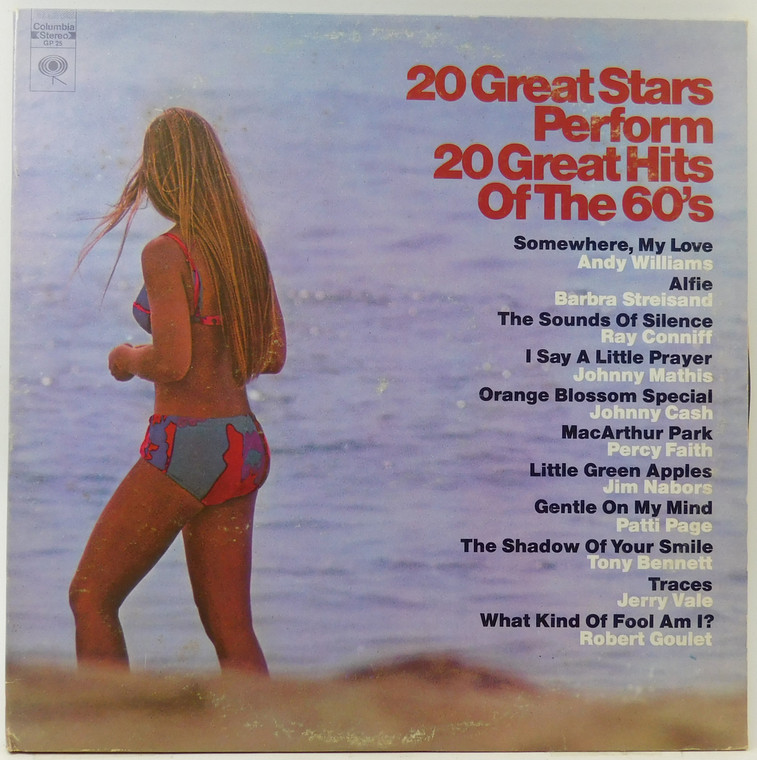 Various Artists: 20 Great Stars Perform 20 Great Hits of the 60's (2 Record Set) - LP Vinyl Record Album