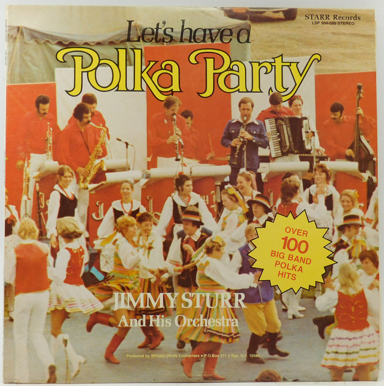 Jimmy Sturr & Orchestra: Let's Have a Polka Party (2 Record Set) - LP Vinyl Record Album