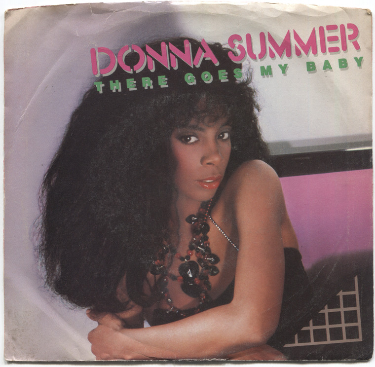 Donna Summer: There Goes My Baby / Maybe It's Over - 45 rpm Vinyl Record & Picture Sleeve