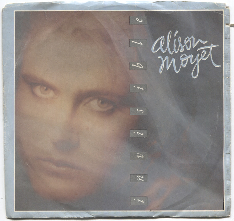 Alison Moyet: Invisible / Invisible - Promo 45 rpm Vinyl Record & Picture Sleeve
