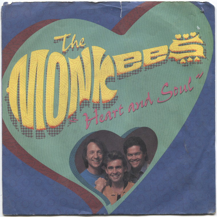 The Monkees: Heart and Soul / MGBGT - 45 rpm Vinyl Record & Picture Sleeve
