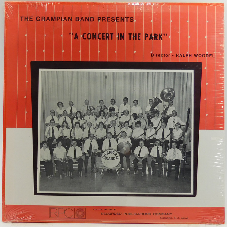 The Grampian Band: A Concert in the Park - Factory Sealed LP Vinyl Record Album