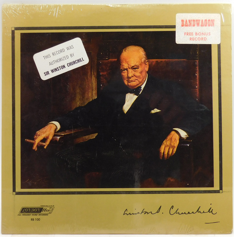 The Voice of Winston Churchill - Factory Sealed LP Vinyl Record Album