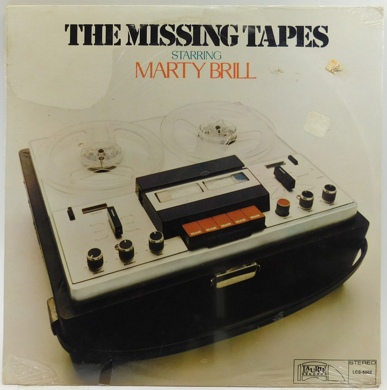 Marty Brill: The Missing Tapes - Factory Sealed LP Vinyl Record Album