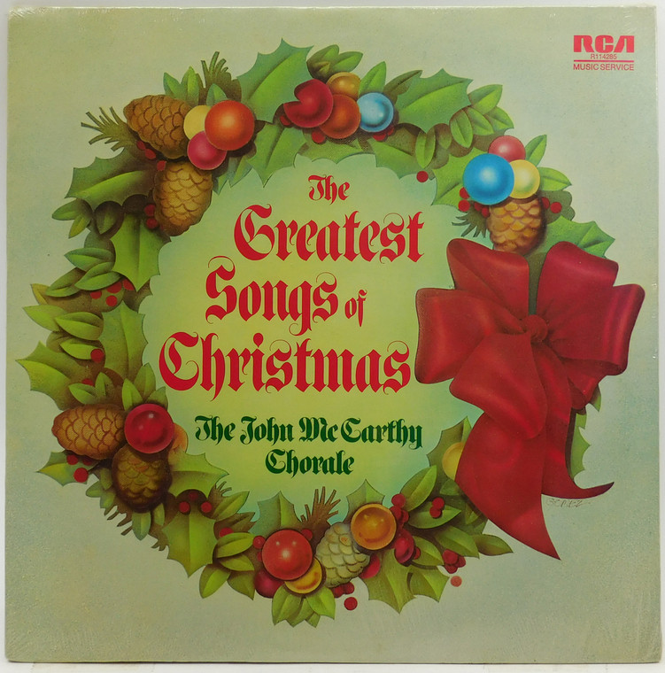 The John McCarthy Chorale: The Greatest Songs of Christmas - Factory Sealed LP Vinyl Record Album