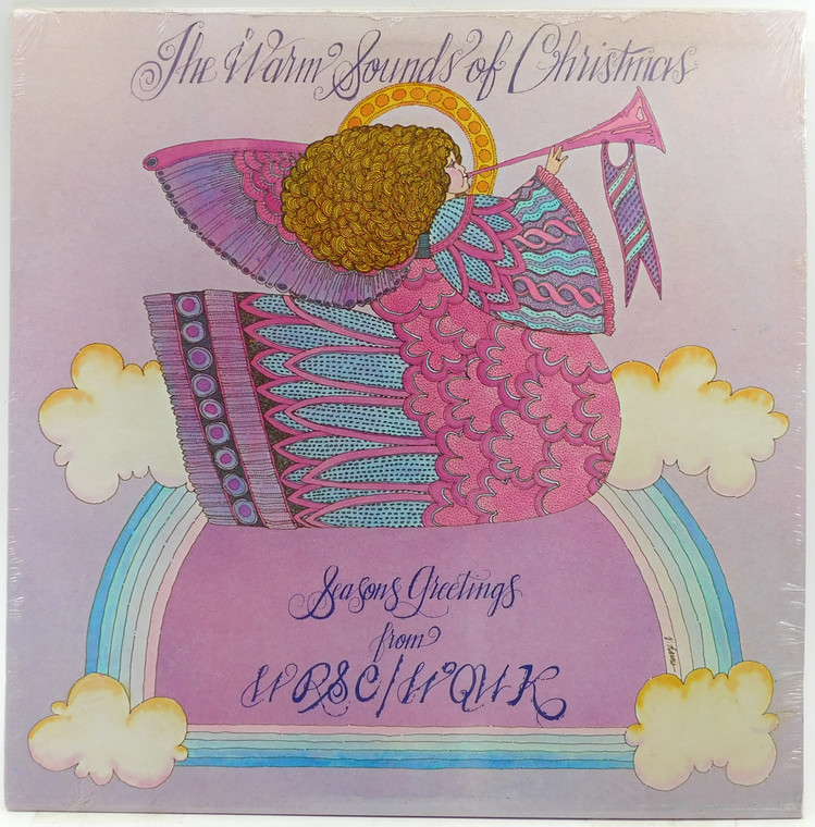Various Artists: The Warm Sounds of Christmas, Seasons Greetings from WRSC/WQWL - Factory Sealed LP Vinyl Record Album