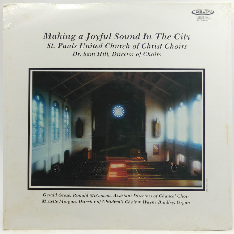 St. Pauls United Church of Christ Choirs: Making a Joyful Sound in the City - Factory Sealed LP Vinyl Record Album