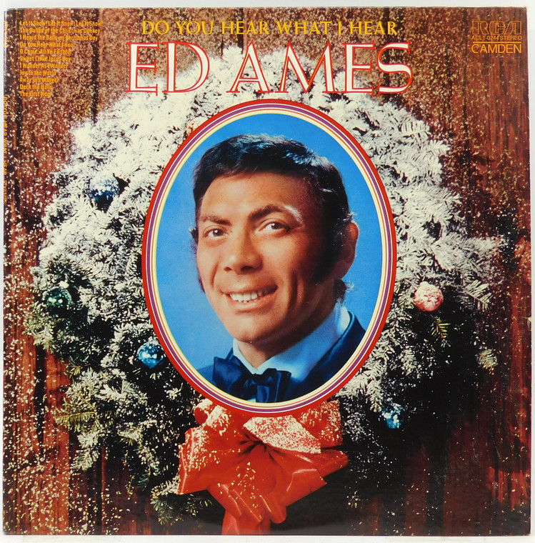 Ed Ames: Do You Hear What I Hear - LP Vinyl Record Album