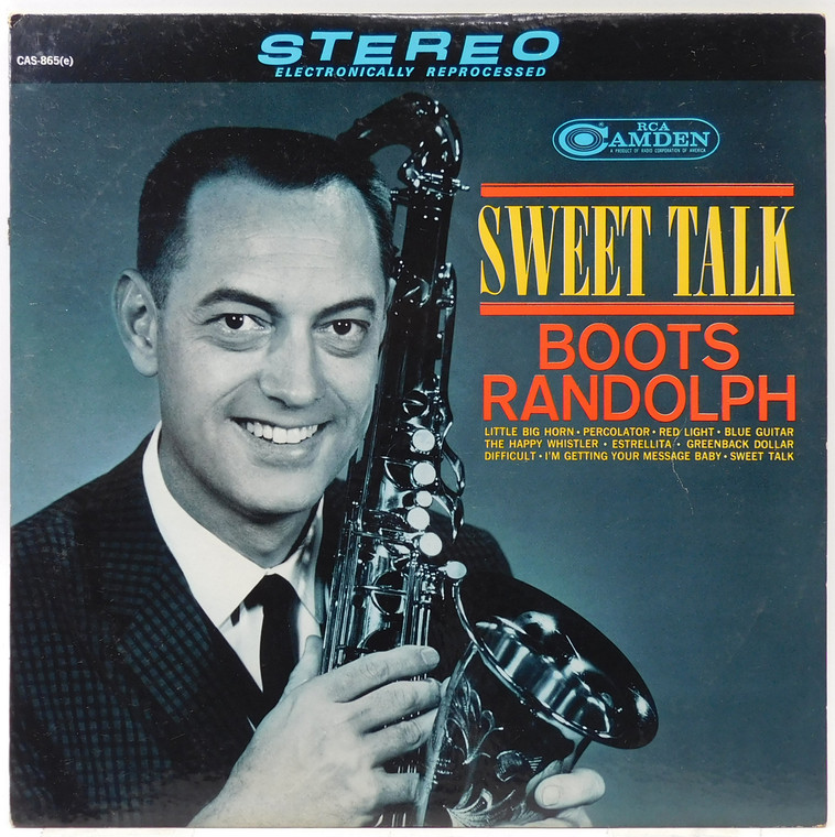 Boots Randolph: Sweet Talk - LP Vinyl Record Album