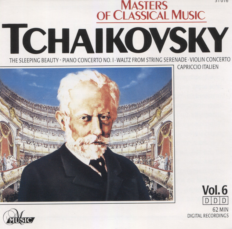 Various Artists: Tchaikovsky, Masters of Classical Music, Volume 6 - CD / Compact Disc