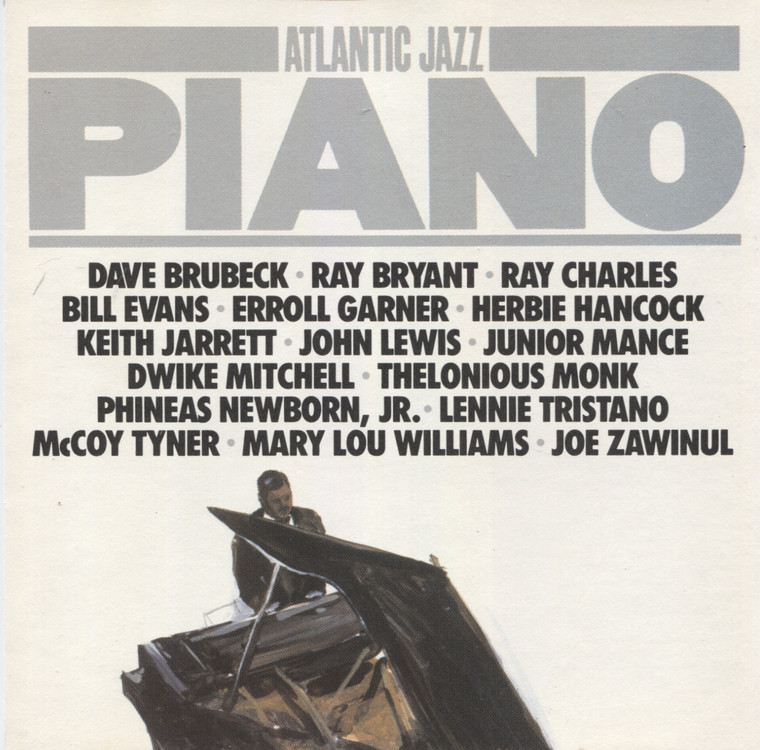 Various Artists: Atlantic Jazz Piano - CD / Compact Disc