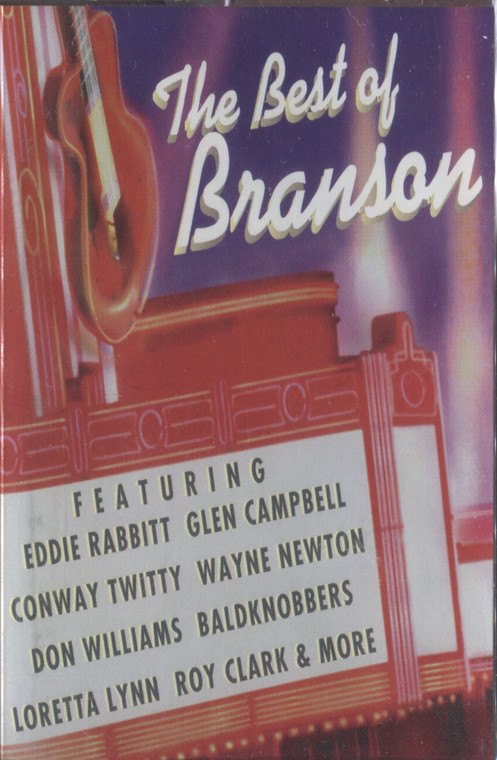 Various Artists: The Best of Branson - Sealed Audio Cassette Tape