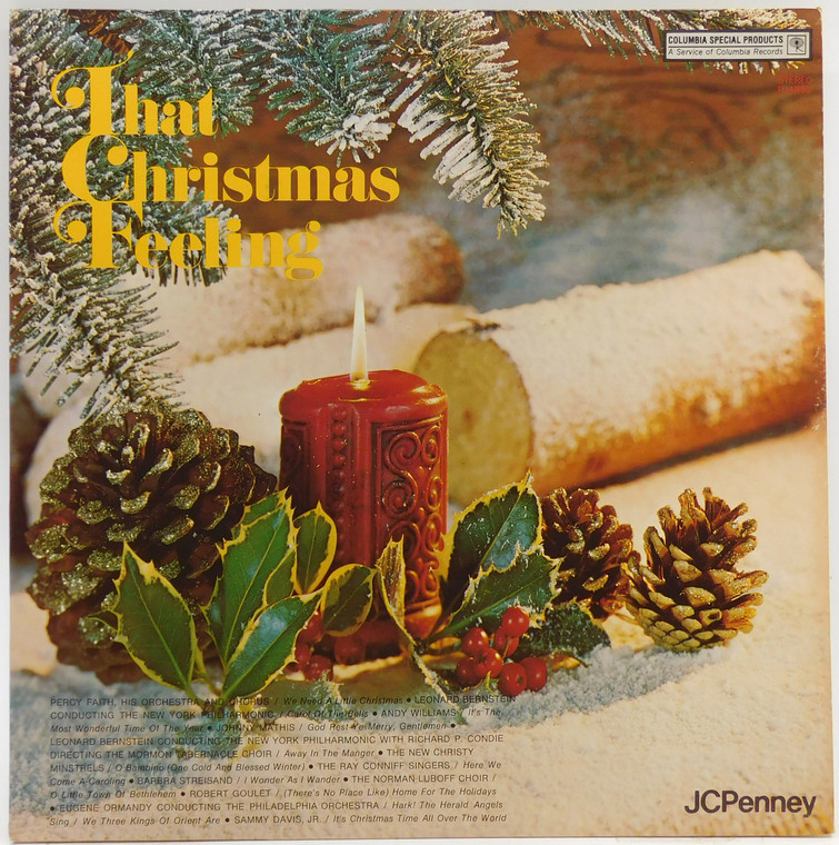 Various Artists: That Christmas Feeling - JC Penney Collector LP Vinyl Record Album