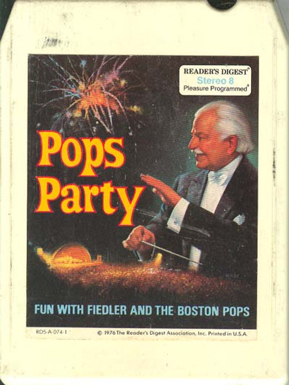 Arthur Fiedler & Boston Pops: Pops Party, Tape 4 8 track tape