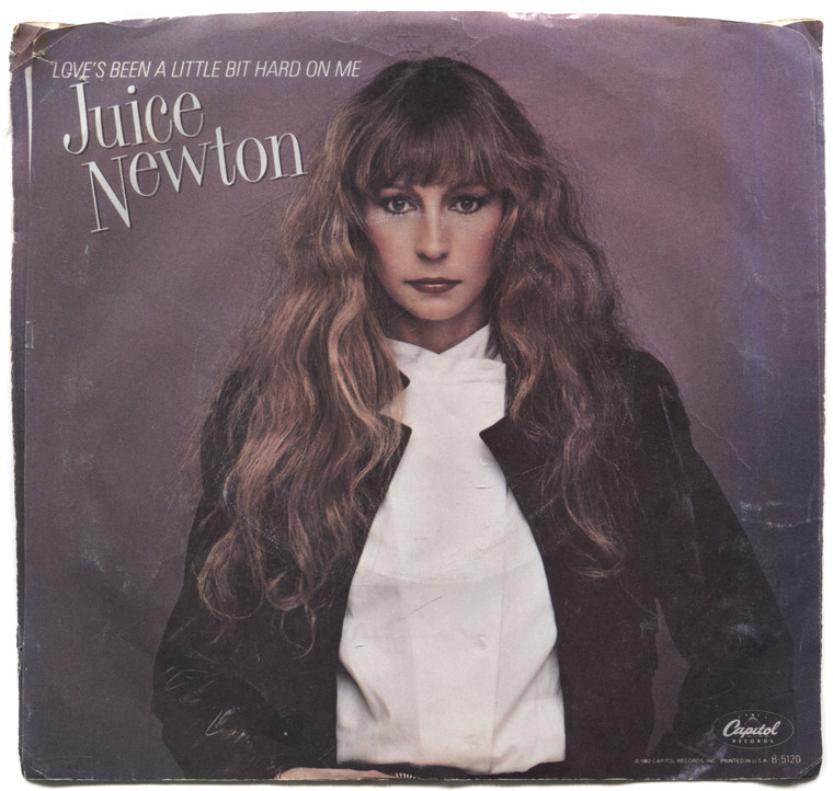 """Juice Newton: Ever True / Love's Been a Little Bit Hard on Me - 7"""" 45 rpm Vinyl Record & Picture Sleeve"""