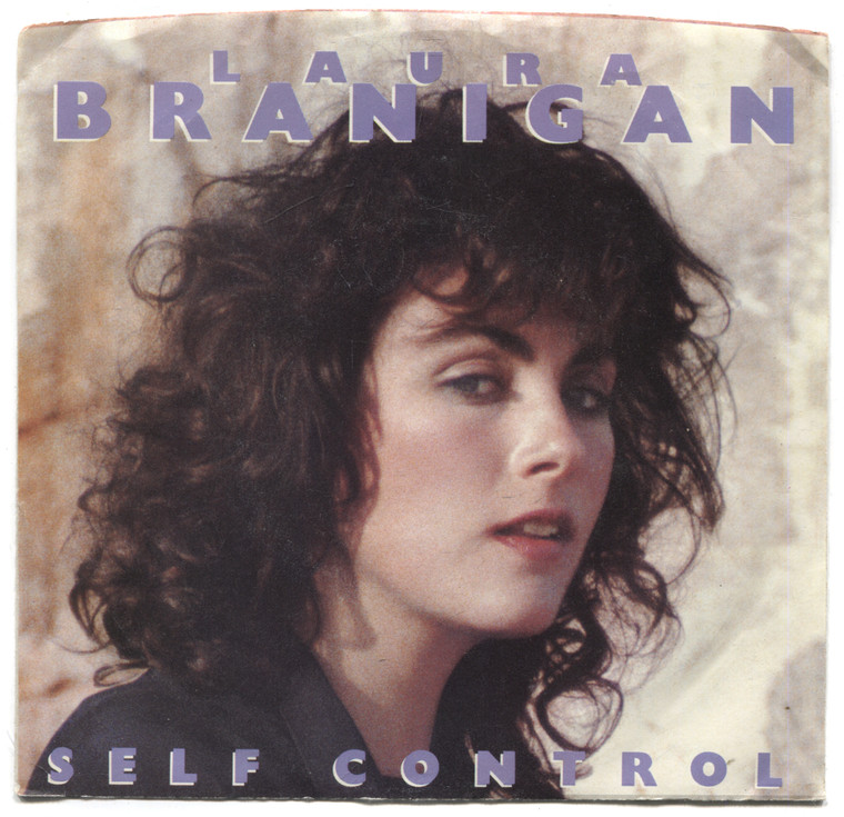"Laura Branigan: Self Control / Silent Partners - 7"" 45 rpm Vinyl Record & Picture Sleeve"